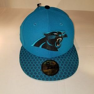 New era 59fifty carolina panthers Fitted Hat Cap